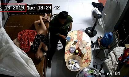 Clip người giúp việc bạo hành dã man cụ bà nằm liệt giường như kẻ thù gây phẫn nộ