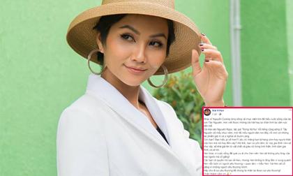 Hoa hậu H'Hen Niê bức xúc lên tiếng khi bị cho là thêu dệt gia cảnh nghèo khó