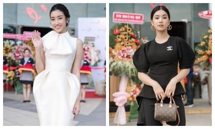 Hoa hậu Đỗ Mỹ Linh 'kín cổng cao tường', Hoàng Yến Chi bi diện cả cây đen hội ngộ cùng nhau