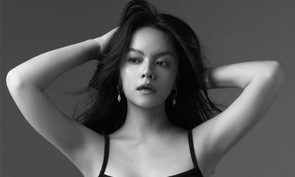 Phạm Quỳnh Anh ngày càng xinh đẹp và gợi cảm, tung bộ ảnh đơn sắc mừng tuổi 35