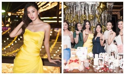Hoa hậu Tiểu Vy khoe nhan sắc rực rỡ tuổi 19, hạnh phúc mừng sinh nhật bên dàn mĩ nhân