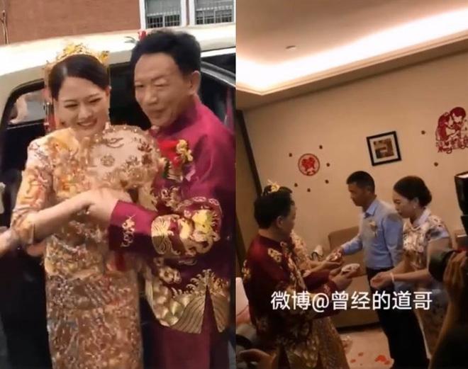 Đám cưới của cô dâu 26 chú rể 62 gây sốc, nhưng điều đáng chú ý là biểu cảm của mẹ vợ - 1