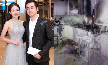 Vừa mới định nghĩa thế nào là cô vợ ngon, Sara Lưu đã một phen hốt hoảng vì cháy nhà