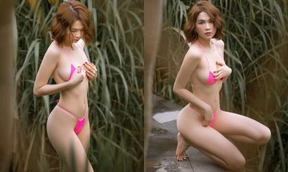 Bị tố photoshop loạt ảnh bikini tại Bali, Ngọc Trinh liền có động thái đáp trả