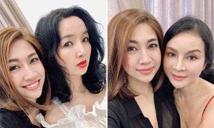 Chụp ảnh bên đàn em ít hơn cả chục tuổi, MC Thanh Mai và Hoa hậu Giáng My vẫn xinh đẹp, tươi trẻ không kém