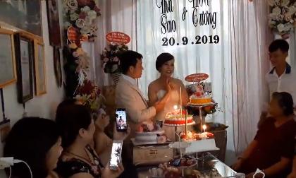 Hé lộ bữa tiệc linh đình kỷ niệm 1 năm ngày cưới của cô dâu 62 tuổi và chồng trẻ