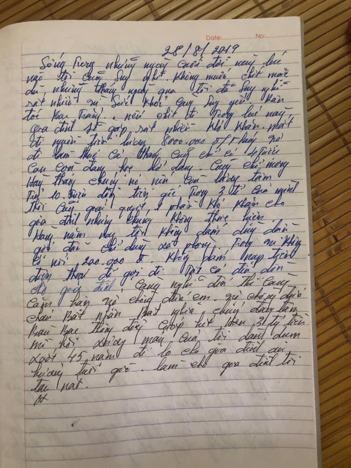 Công an nói gì về bức tâm thư uất ức của nguyên Phó GĐ truy sát cả nhà em gái - 2