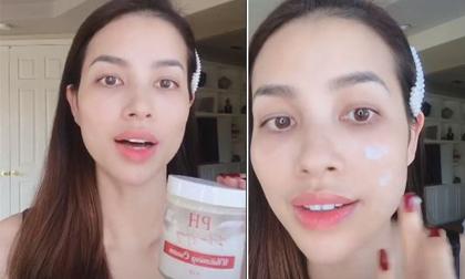 Hoa hậu Phạm Hương bất chấp lời chê bai, vẫn tung mỹ phẩm mang tên mình ra thị trường