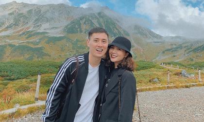 Diễn viên Kiên Hoàng cùng vợ hot girl trải nghiệm những điều lạ lùng, thú vị ở Nhật Bản