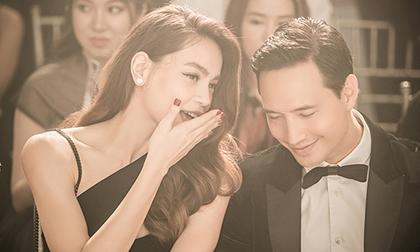 Mặc kệ dàn Hoa hậu xinh như mơ, Kim Lý vẫn chỉ tập trung vào Hà Hồ cực cao độ
