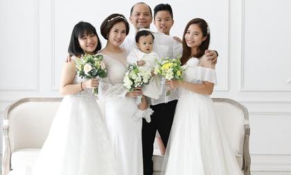 Dung mạo nhóc tì thứ 4 gần một tuổi của vợ chồng diễn viên Anh Tuấn - Nguyệt Hằng