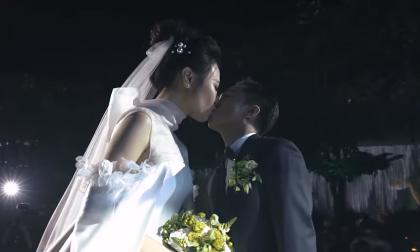Cường Đô La chia sẻ video đám cưới đẹp như cổ tích cùng Đàm Thu Trang