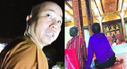Xác minh thông tin sư trụ trì của chùa Nga Hoàng ở Vĩnh Phúc bị tố 'gạ tình' phóng viên