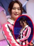 'Hồ ly' Shin Min Ah ngượng ngùng vì váy xẻ sâu