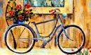 Truyện cười: Vắt sữa từ xe đạp
