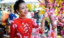 Thảo Trang bất ngờ dịu dàng và nữ tính với áo dài