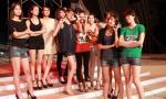 Chân dài Vietnam's Next Top Model 2012 nhí nhảnh trong đêm tổng tuyệt trước giờ G