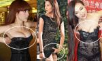 Mỹ nhân Hoa ngữ hồn nhiên chỉnh váy áo vô duyên