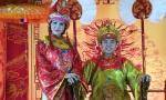 Vũ Hoàng Việt và người tình U60 làm vua chúa được kẻ hầu người hạ