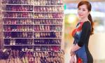 Quỳnh Nga nối gót mỹ nhân Việt khoe tủ giày hiệu khủng