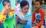 Quý tử nhà sao Việt ngộ nghĩnh với thời trang đi bơi