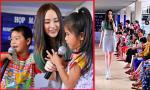 Angela Phương Trinh đẹp rạng rỡ, trao quà cho trẻ em nghèo
