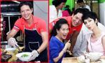 Bình Minh trổ tài nấu nướng trong ngày khai trương quán ăn