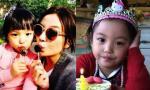 Hình ảnh mới đáng yêu của con gái Triệu Vy