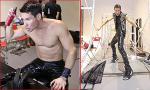 Adam Williams khoe body vạm vỡ tại hậu trường chụp ảnh Next Top