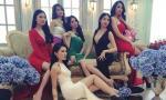 Loạt 'gà cưng' của Khắc Tiệp khoe sắc rạng rỡ hơn Hoa hậu trong hậu trường