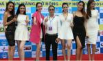 Ngọc Trinh và dàn chân dài làm 'nóng bừng' lễ khai mạc cúp bóng đá Hồ Gươm 2014