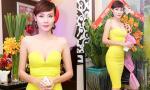 """Dương Yến Ngọc diện váy """"úp mở"""" vòng một gợi cảm tại sự kiện"""