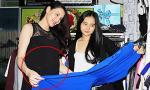 """Trang Nhung diện váy """"lùm lùm"""" sau lễ đính hôn bí mật"""
