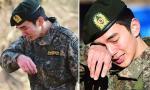 'Tiểu So Ji Sub' khóc nức nở trong ngày xuất ngũ