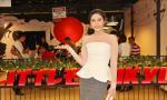 Hoa hậu Đại Dương Đặng Thu Thảo rạng rỡ mở tiệc chiêu đãi sau khi thi Quốc tế
