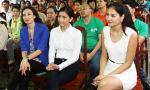 Trương Thị May, Ngọc Diễm, Hương Giang lên vùng cao làm từ thiện