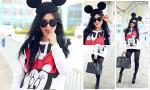 """Maria Đinh Phương Ánh """"hồi teen"""" với style chuột Mickey"""