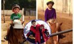 Con trai 6 tuổi Hoa hậu Hà Kiều Anh cưỡi ngựa chuyên nghiệp