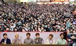 Hơn 4 nghìn fan EXO xin ký tên gây náo loạn phố Hong Kong