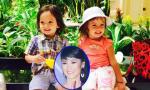 Hồng Nhung khoe cặp sinh đôi đẹp như thiên thần khi đi diễn cùng mẹ