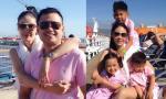 Hà Kiều Anh khoe ảnh cùng chồng, con hạnh phúc đi du lịch