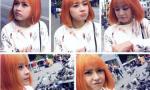 Chi Pu bị chê xấu vì nhuộm tóc màu vàng da cam