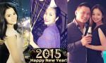 Sao Việt tưng bừng đón năm mới bên người thân