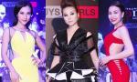 Sao Việt lộng lẫy tham dự chung kết 'Vietnam's Next Top Model 2014'