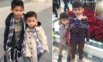 Hai con trai Hà Kiều Anh càng lớn càng đẹp trai