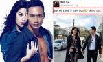Kim Lý bất ngờ công khai tình yêu với Trương Ngọc Ánh