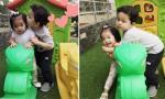 Con trai Trương Quỳnh Anh lần đầu lộ diện sau khi theo mẹ bỏ đi