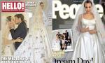 Lộ ảnh cưới hiếm của vợ chồng Angelina Jolie
