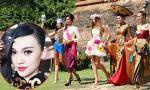 Cao Thùy Linh lộng lẫy với trang phục dân tộc tại Hoa hậu Quốc tế 2014