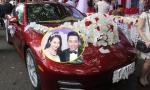 Những sao Việt dùng xe sang rước dâu